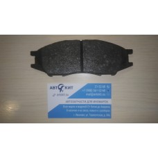 Колодки тормозные передн.  NISSAN Almera Classic (B10) 1.6 16V 03.06->/REMSA