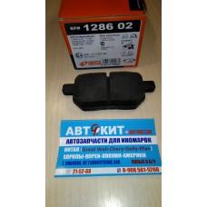 Колодки тормозные задние дисковые TOYOTA Corolla/Auris/Verso/Prius 07->HOVER M2/   128602  REMSA