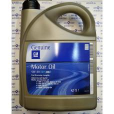 Масло моторное синтетическое GM Dexos2 5W-30, 5л\\  93165557