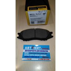 Колодки тормозные передние дисковые NISSAN ALMERA/SUNNY 99-  BB0326  BLITZ