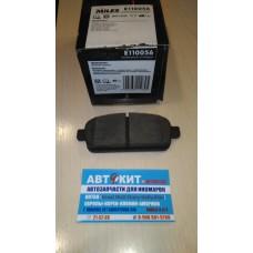 Колодки тормозные задние CHEVROLET CRUZE 09-/ORLANDO 11-/OPEL ASTRA J 10-    E110056  MILES