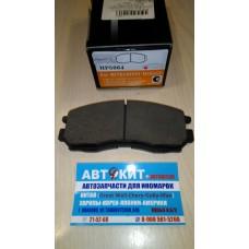 Колодки тормозные дисковые передн HYUNDAI SANTAMO 98 - \ MITSUBISHI COLT IV 92  HP5064  HSB
