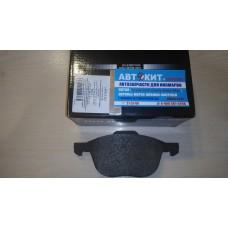 Колодки тормозные дисковые передн FORD FOCUS C-MAX 03-07, FOCUS 04-07 \ MAZDA \\\ MilesE400001