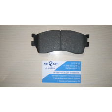 Колодки передние KIA Spectra 04->/Sephia 00->/Rio 00-05/Shuma II 01-04      \  ECO