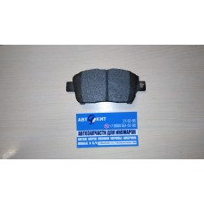 Колодки тормозные переднии LIFAN SOLANO/GREAT WALL m2/GEELY    SB35001
