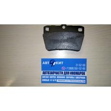 Колодка тормозная задняя к-кт Chery Tiggo T11BJ3501080