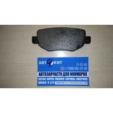 Колодки тормозные задние  Chery FORA, Vortex, Estina, Tiggo, FL,m11/LIFAN X60   A213502080BA
