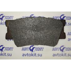 Колодки тормозные дисковые задние задние  TOYOTA Rav-4 III 06->\\   NSP